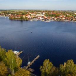 Port żeglarski na Mazurach Enklawa Mikołajki