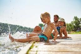 Wakacje nad Jeziorem | Domki Enklawa na Mazurach